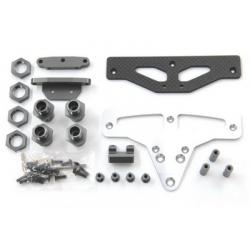 ST Racing Concepts GT-8/Rally Cross Conversion kit for Slash 4x4 (Gun Metal)